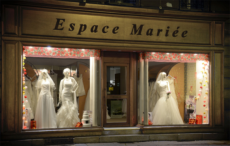 Magasin robe de mariee 44