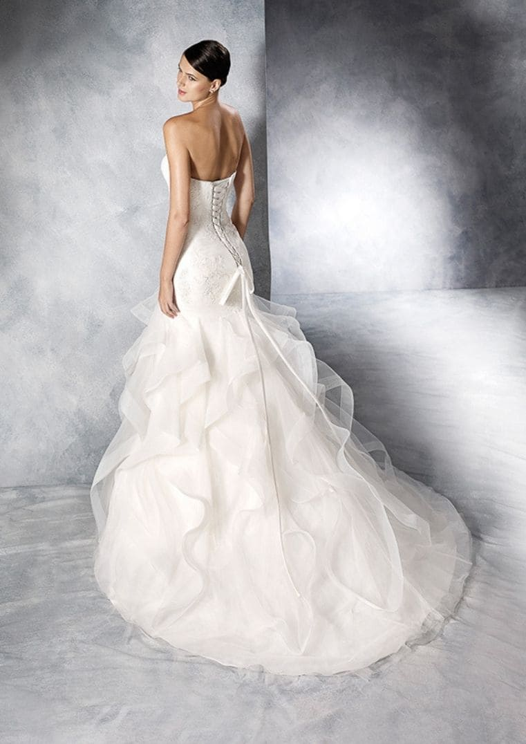 Robe de mariée sirène Jabel - Espace Mariée Nantes
