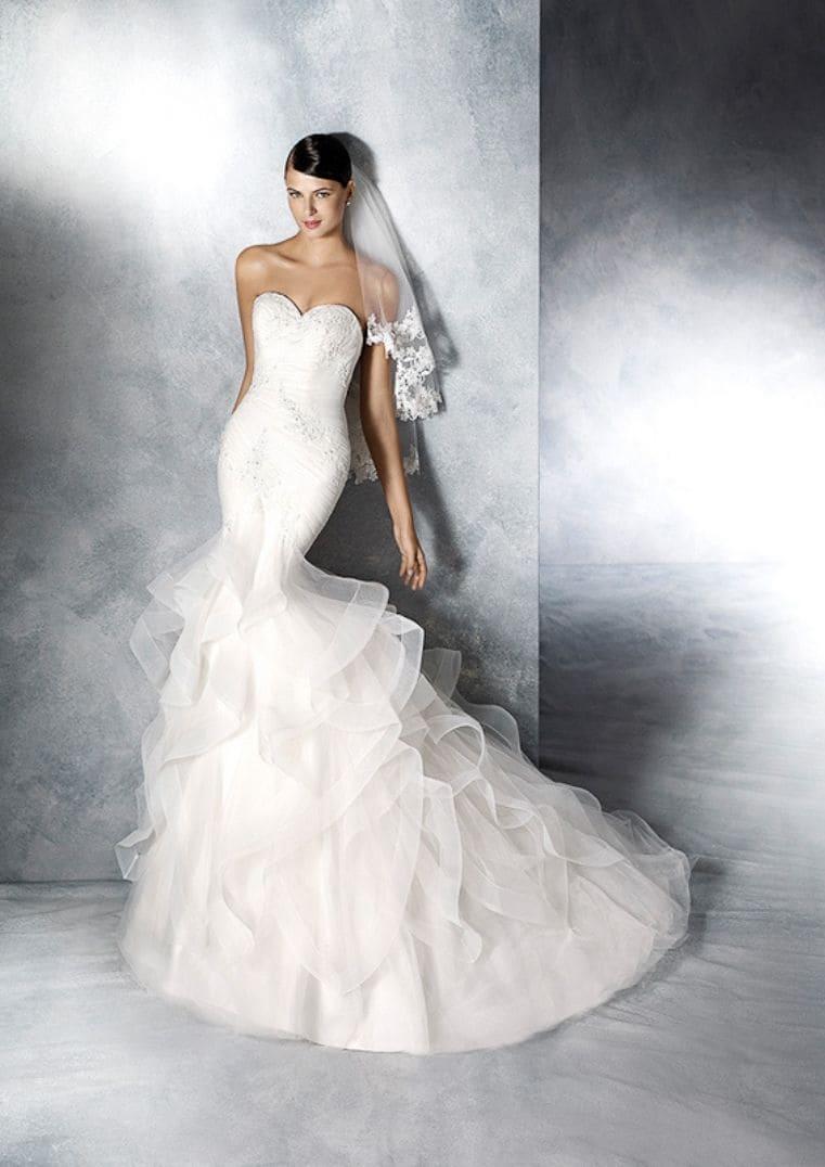Robe de mariée sirène Jabel - White One