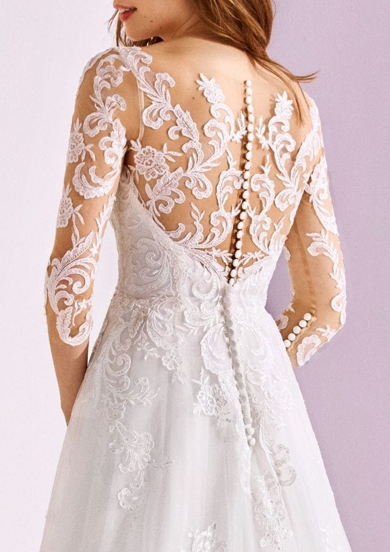 Robe de mariée Vexta dos effet tattoo - White One