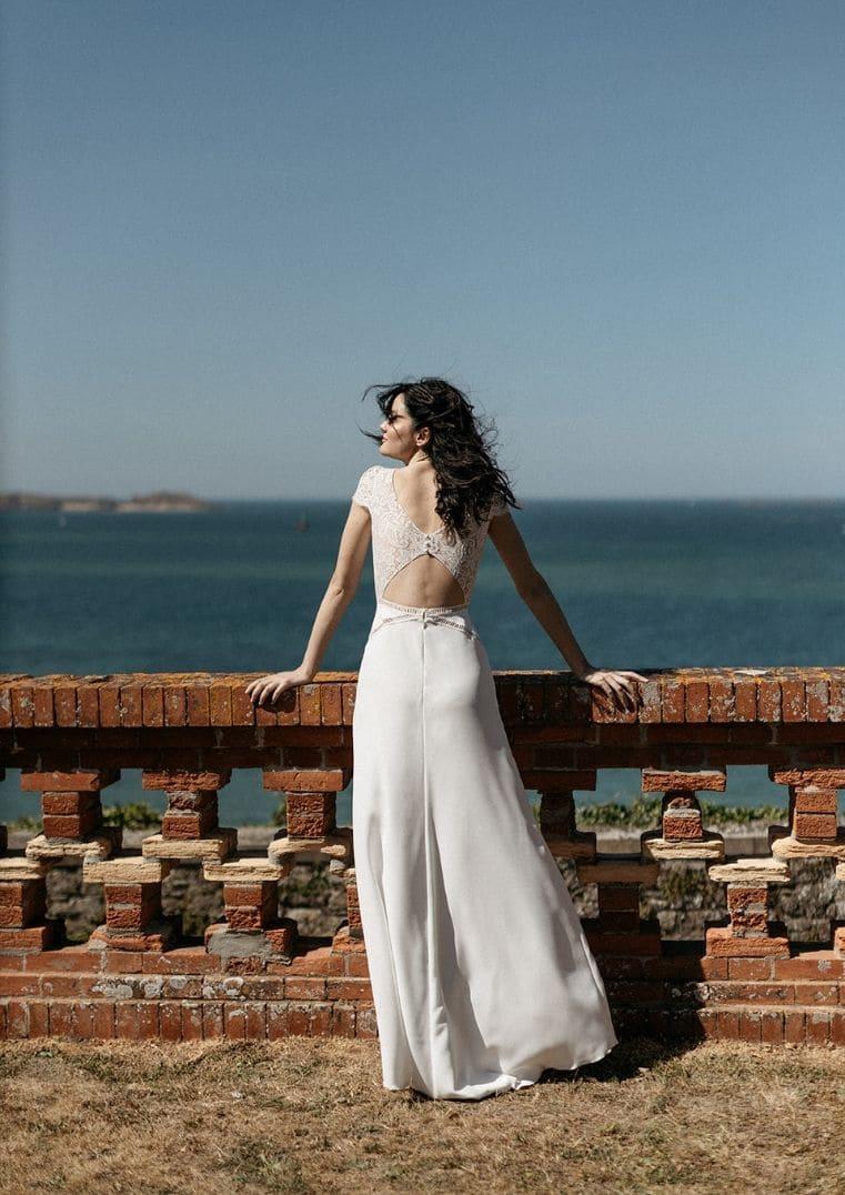 Robe de mariée Belem avec manches