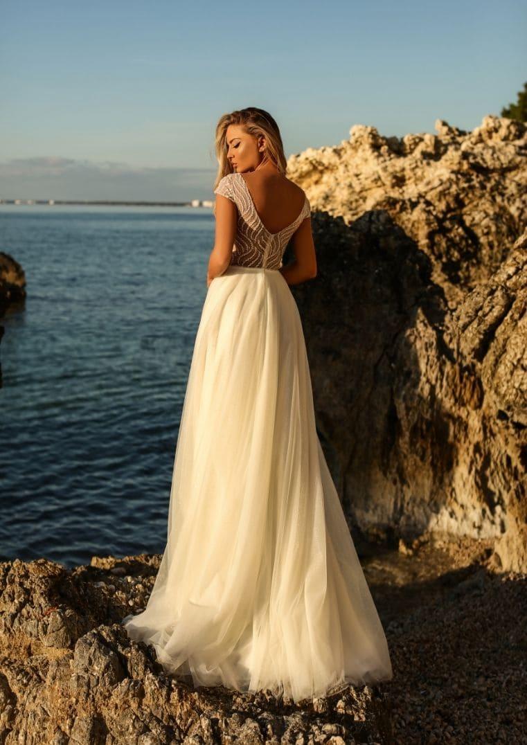Robe de mariée silhouette A Clementine