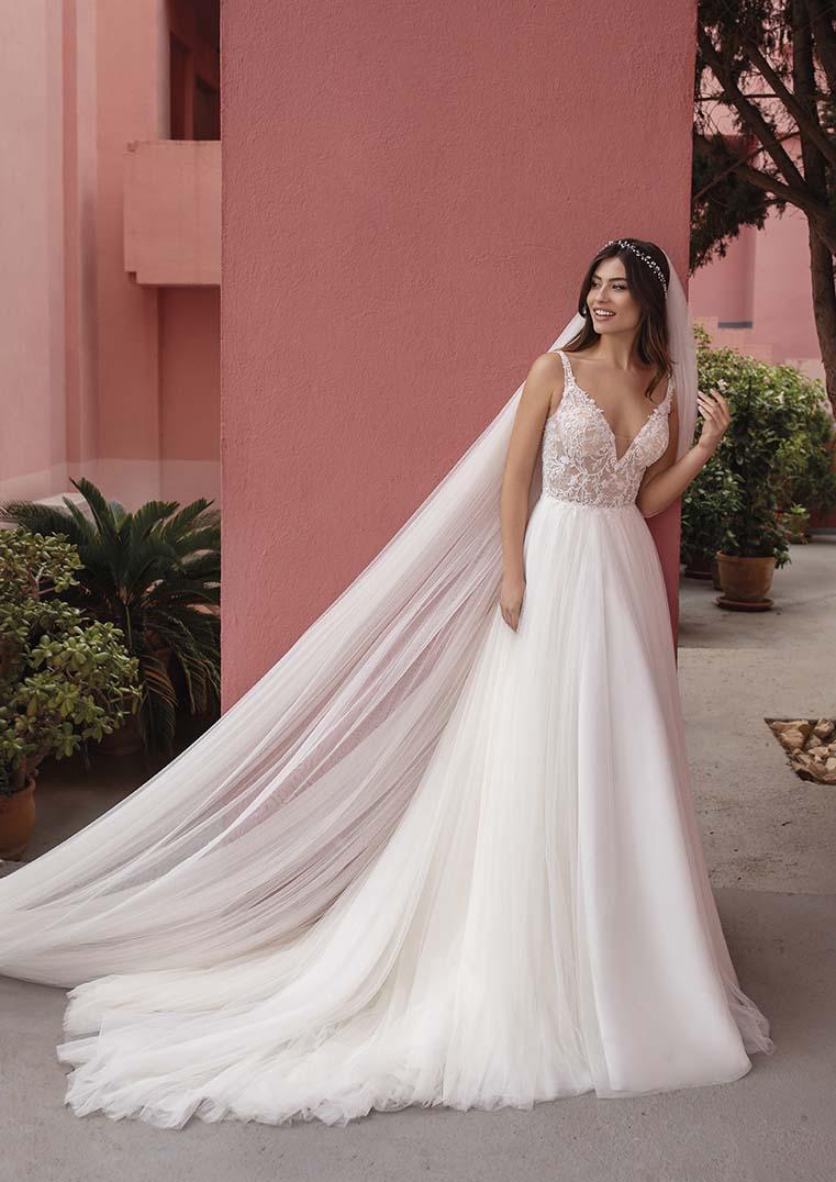 Robe de Mariée Enchanter en tulle - White One-