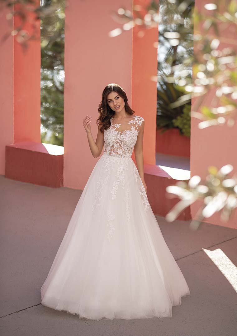 Robe de Mariée Felicidad coupe en A - White One