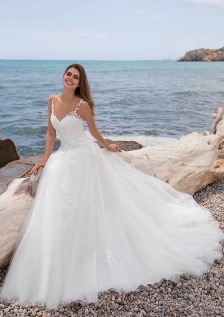 Robe de Mariée princesse Femme - White One