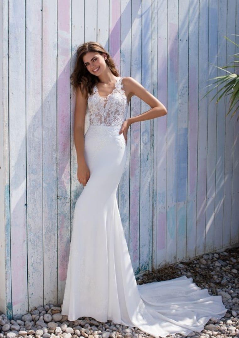 Robe de Mariée sirène Filipinas - White One