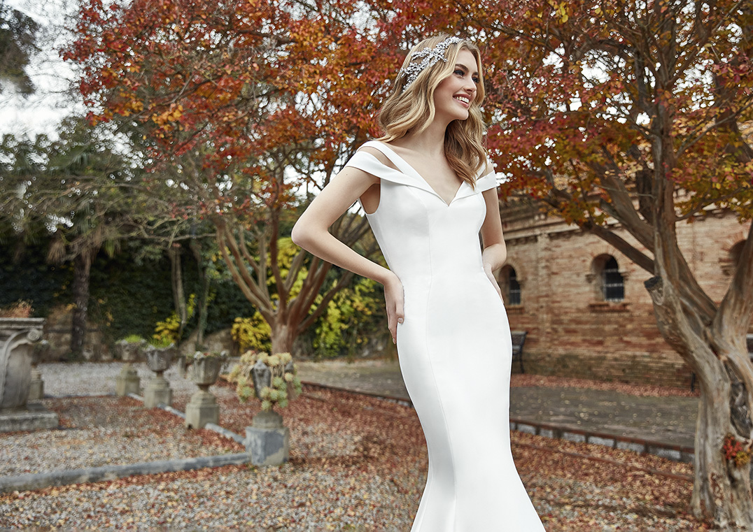 Robe de mariée Holly San Patrick - Espace Mariée Nantes