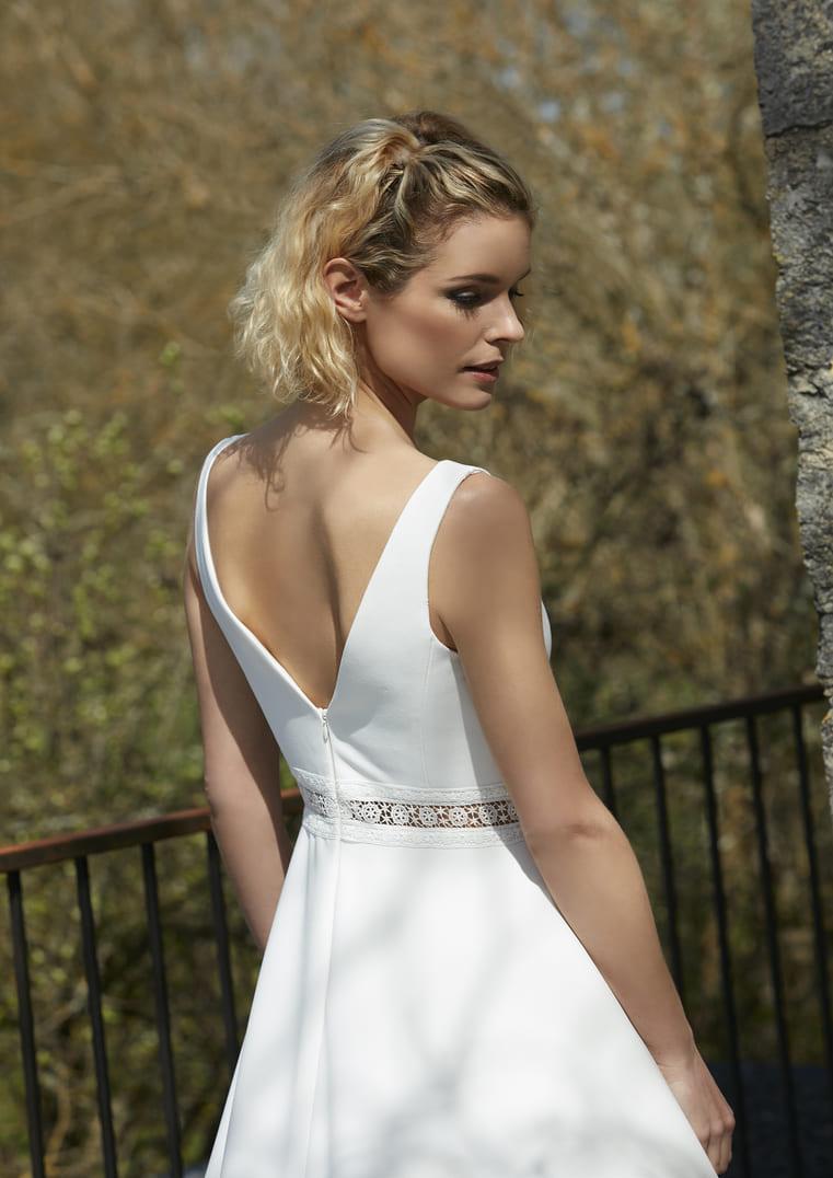 Robe de mariée coupe A - Raison Bochet Créations
