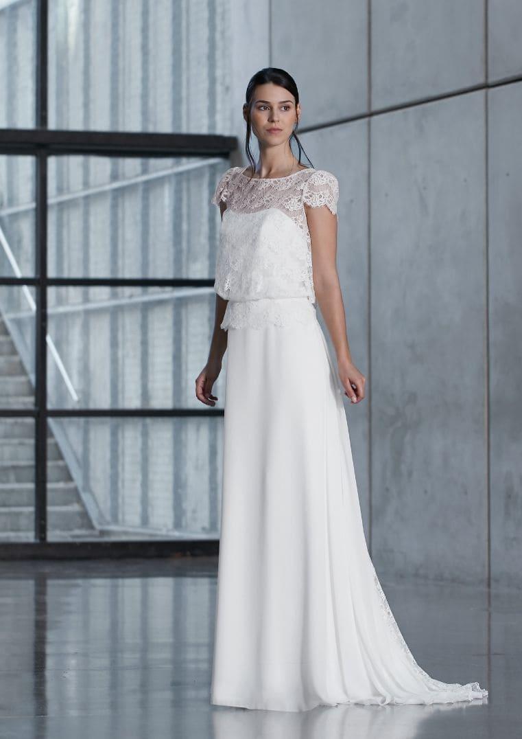 Robe de mariée Flora - Bochet Créations
