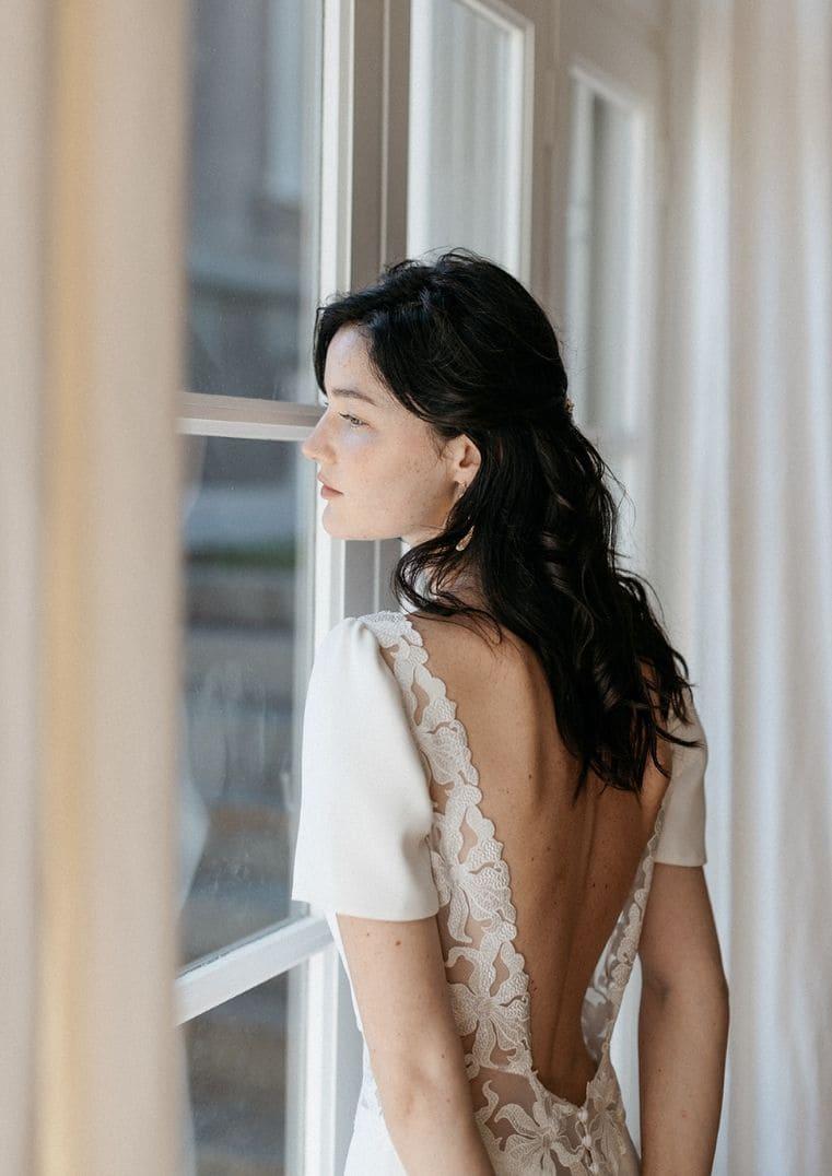 Robe de mariée Madura dos nu - Lambert Créations