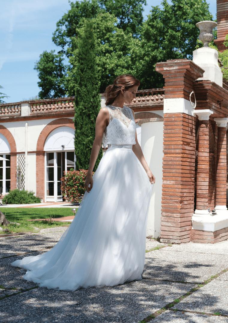 Robe de mariée Sunset - Bochet Créations