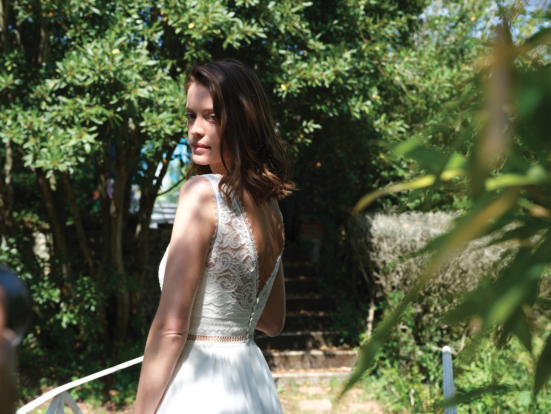 Robe de mariée Saba - Bochet Créations