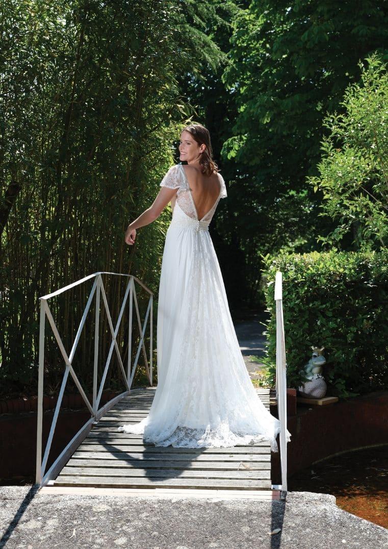 Robe de mariée Shade dos - Bochet Créations 2022