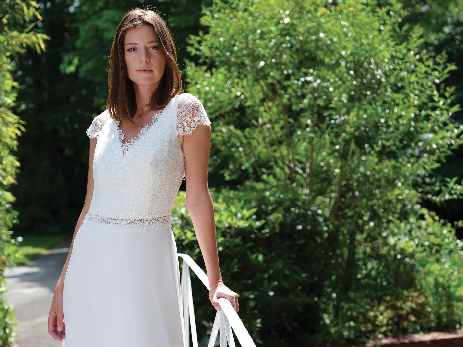 Robe de mariée Stand Up - Bochet Créations 2022