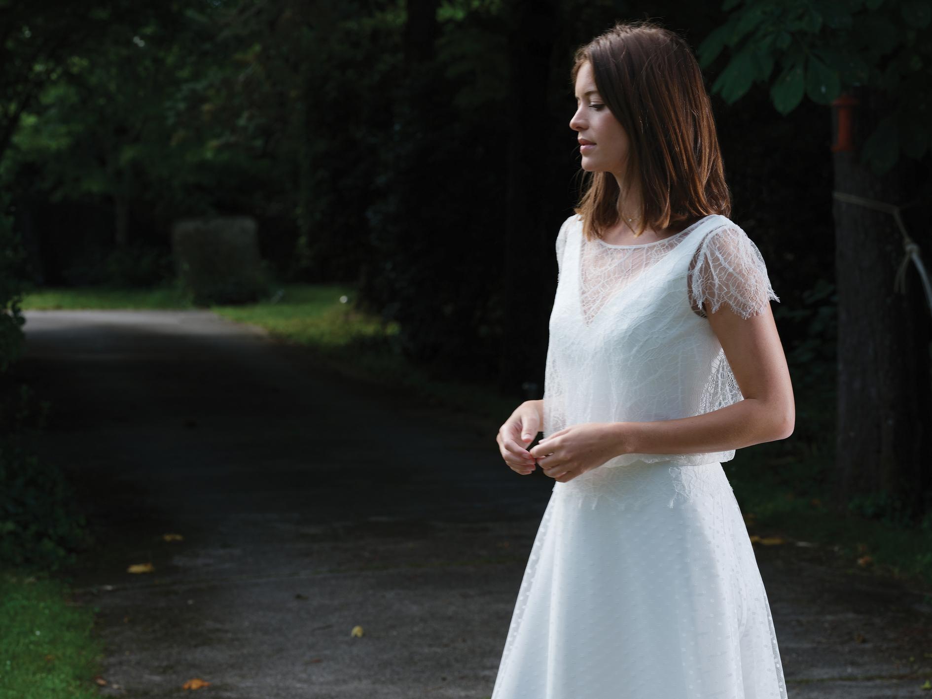 Robe de mariée Stella - Bochet Créations 2022