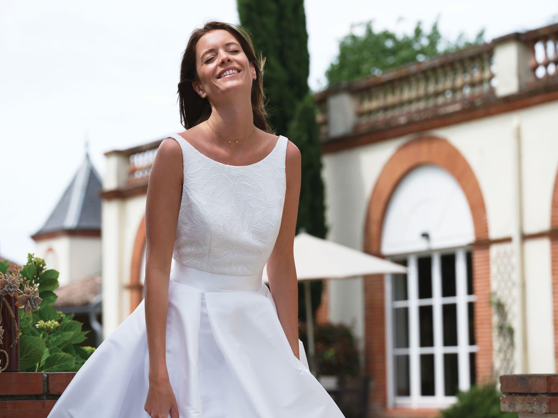 Robe de mariée Syllabe - Bochet Créations 2022