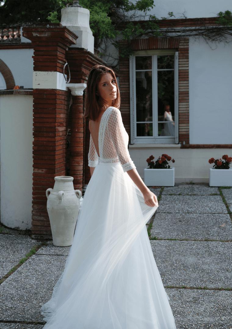 Robe de mariée Subtile - Bochet Créations